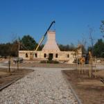 6. Budowa dworu na terenie skansenu