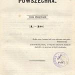 Encyklopedia powszechna, 1859r.