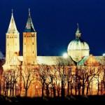 Katedra w Płocku - nocą