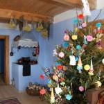 Boże Narodzenie - ozdoby choinkowe w chałupie z Dzierżążni