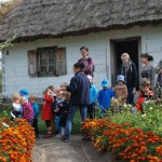 w ogródku babci - skansen Sierpc 3