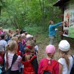 edukacja_przyrodnicza_w_lesie_2 skansen Sierpc