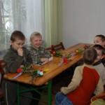 gotowe palemki - ratusz w Sierpcu