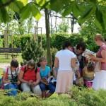 lekcja w parku
