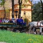 przejażdżki wozem skansen Sierpc