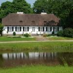 Staw i dworek z Bojanowa - lato w Muzeum Wsi Mazowieckiej w Sierpcu