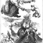 czarownica i noworodek