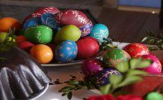 """Wystawa """"Wielkanoc na Mazowszu"""", skansen w Sierpcu - pisanki wielkanocne"""