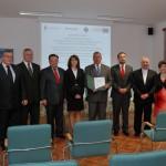 Sygnatariusze - Podpisanie umowy na budowę Centrum Kulturalno-Rekreacyjnego w Muzeum Wsi Mazowieckiej w Sierpcu