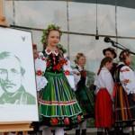 Majówka 2014, skansen w Sierpcu - występ zespołu folklorystycznego