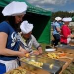 Gotowanie na polanie skansen Sierpc 2
