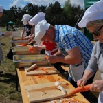Gotowanie na polanie skansen Sierpc 1