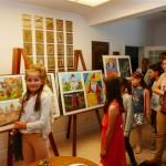 """Konkurs """"Armenia na wyciągnięcie ręki"""" w Muzeum Małego Miasta w Bieżuniu - zwiedzanie wystawy pokonkursowej"""