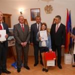 """Konkurs """"Armenia na wyciągnięcie ręki"""" w Muzeum Małego Miasta w Bieżuniu - laureatka z nagrodą"""