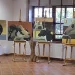 Wystawa malarska Joanny Wancerz w Muzeum Wsi Mazowieckiej w Sierpcu 5