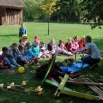 Gry i zabawy naszych dziadków  - Muzeum Wsi Mazowieckiej w Sierpcu
