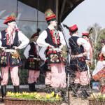 Niedziela Palmowa 2018, skansen w Sierpcu - na scenie, koncert folklorystyczny