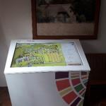 Monitor dotykowy  - Muzeum Wsi Mazowieckiej w Sierpcu