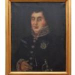 Portret Karola Fryderyka Woydy - Muzeum Wsi Mazowieckiej w Sierpcu