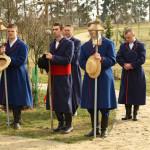 Mężczyźni w strojach sierpeckich - Muzeum Wsi Mazowieckiej w Sierpcu
