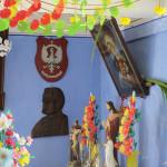 Chałupa z Jonnego, wnętrze  - Muzeum Wsi Mazowieckiej w Sierpcu