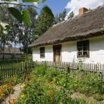 Chałupa z Ostrowa  - Muzeum Wsi Mazowieckiej w Sierpcu