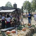 Wykopki 2019, skansen w Sierpcu - kiermasz owoców i warzyw