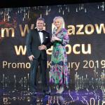 Zastępca Dyrektora MWM odbiera nagrodę  - Muzeum Wsi Mazowieckiej w Sierpcu