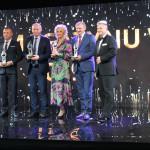 Zdjęcie grupowe, wyróżnieni nagrodą VIP Biznesu  - Muzeum Wsi Mazowieckiej w Sierpcu