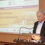 Konferencja dotycząca chorób, skansen w Sierpcu - referat otwierający profesora Jana Święcha