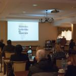 Konferencja dotycząca chorób, skansen w Sierpcu - wystąpnienia referentów, sala konferencyjna