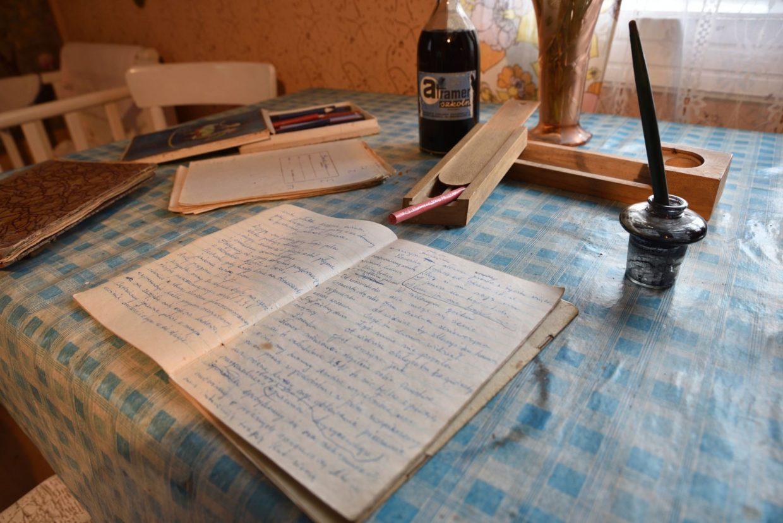 Zeszyt, stalówka i atrament - Skansen w Sierpcu