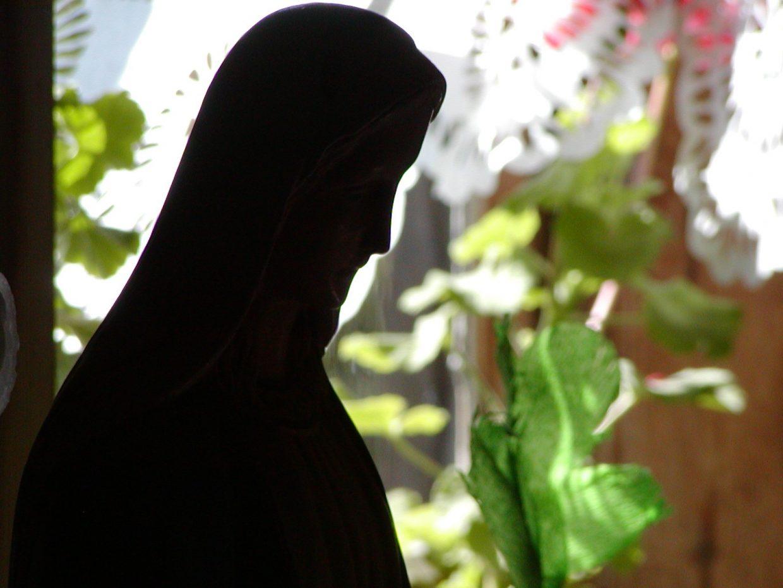 Rzeźba w chałupie wiejskiej - Skansen w Siepcu