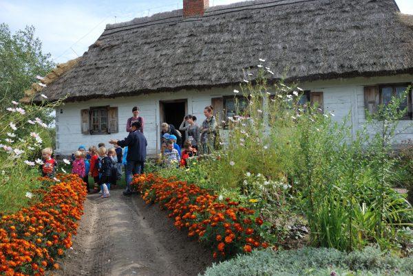 Skansen w Sierpcu - wizyta w wiejskim ogrodzie