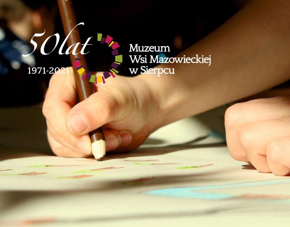 Ręka dziecka, rysowanie - Skansen w Sierpcu