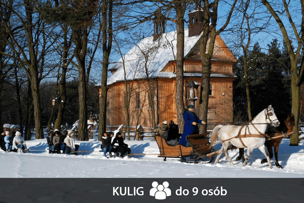 kulig-do-9-osób - Skansen w Sierpcu