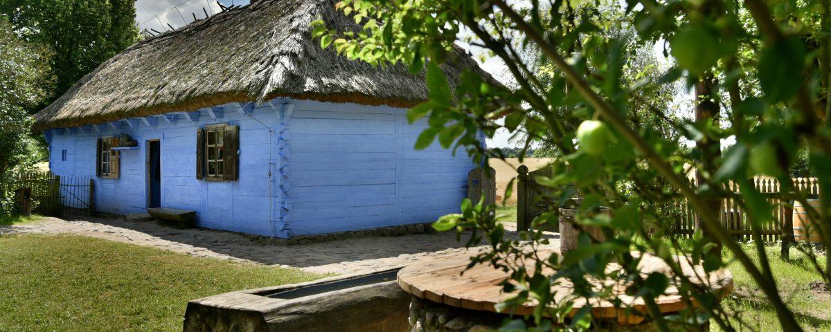 Wiejska chata - Skansen w Sierpcu